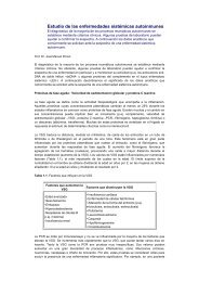 Estudio de las enfermedades sistémicas autoinmunes