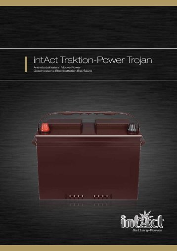 intAct Traktion-Power Trojan