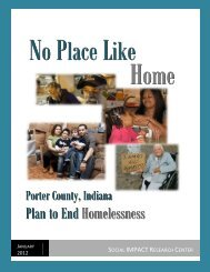 Full 60-Page Report - United Way of Porter County