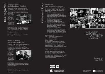 Kirche und Kino Flyer 1/2013 zum Download - Ev. Kirchenkreis ...
