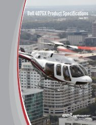 Bell 407GX Product Specifications - Africair