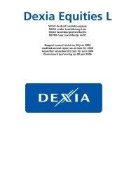 Dexia Equities L - Samuel Begasse