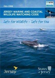 Jersey Marine & Coastal Wildlife Watching Code - Jersey Kayak ...