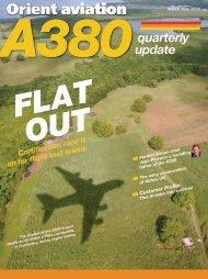 A380quarterly update - Orient Aviation