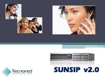 Estructura SIP y SDP - TecnoRed