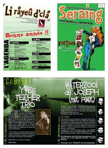 Télécharger cette édition du Rayeu au format PDF - Centre culturel ...