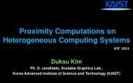 Proximity Computation on Heterogeneous Computing Systems ...
