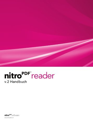 Nitro Reader 2 Handbuch