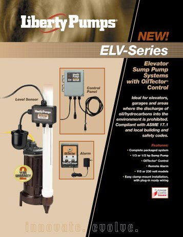 ELV-Series System with OilTector® Control - Pump Express