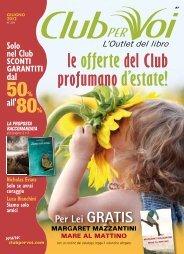 Catalogo Club per Voi n.234 - Giugno 2012 - Club degli Editori