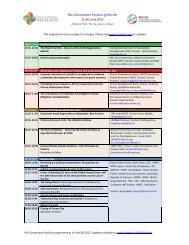 Pavilion programme - Gender Climate