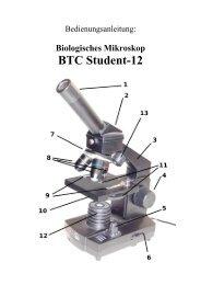Bedienungsanleitung - Biologisches Mikroskop Student-12 - Teleskop