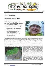 Infothek Waldkinder - Interview mit Silvia Rey - Waldbühne frei für Alex, den Regenwurm