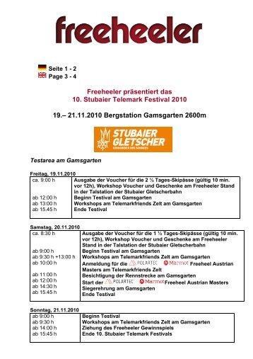 Ablaufplan STF10