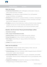 Checkliste Hausbau (PDF)