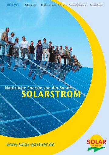 SOLARSTROM - System Sonne GmbH