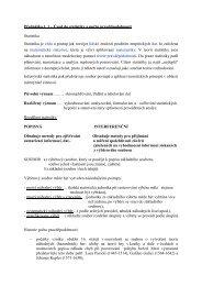 Přednáška č. 1 – Úvod do statistiky a počtu pravděpodobnosti ...