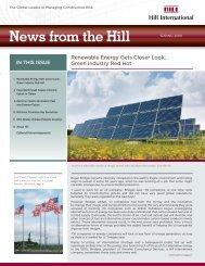Spring 2010 Newsletter - Hill International