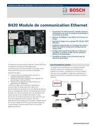 B420 Module de communication Ethernet