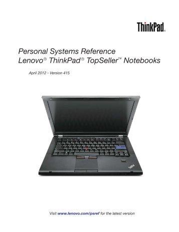 Thinkpad Book - Lenovo   US