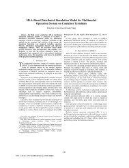 HLA-Based Distributed Simulation Model for Multimodal Operation ...