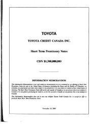 TOYOTA - TD Securities
