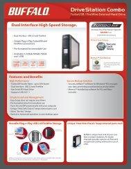 Dual Interface High Speed Storage. - Buffalo