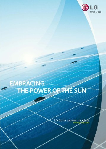 EMBRACING THE POWER OF THE SUN - Hitech Energy Solutions