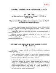 HOTARARE nr. 267 din 2003 privind modificarea si completarea ...