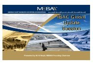 Presented by Ali Al Naqbi, MEBAA Founding Chairman - NBAA
