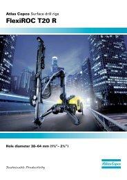 FlexiROC T20 R - Atlas Copco