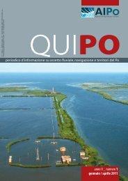 Qui Po n.1 /Gennaio-Aprile 2011 - Agenzia Interregionale per il ...