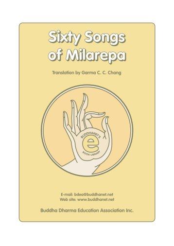 Sixty Songs of Milarepa - BuddhaNet
