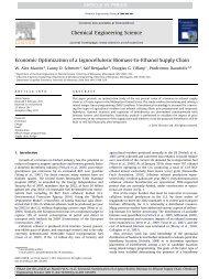 Economic Optimization of a Lignocellulosic Biomass-to-Ethanol ...