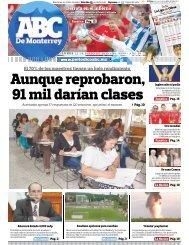 Aunque reprobaron, 91 mil darían clases - Periodicoabc.mx