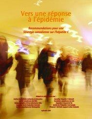 Vers une réponse à l'épidémie - Action hépatites Canada