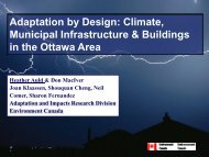 Adaptation by Design - Ontario Centre for Climate Impacts and ...