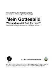 Mein Gottesbild - Diözese Rottenburg-Stuttgart