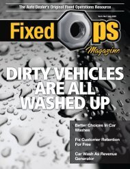 The Auto Dealer's Original Fixed Operations Resource - Fixed Ops