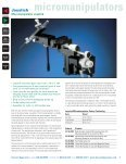 manipulators - Harvard Apparatus - Page 6