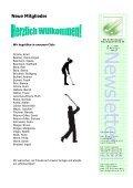 01_2010 Newsletter [Kompatibilitätsmodus] - Golfclub Schlossgut ... - Seite 2