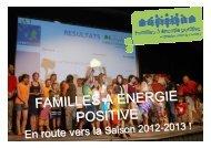 présentation des résultats 2011-2012