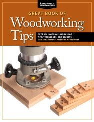 look inside - Highland Woodworking