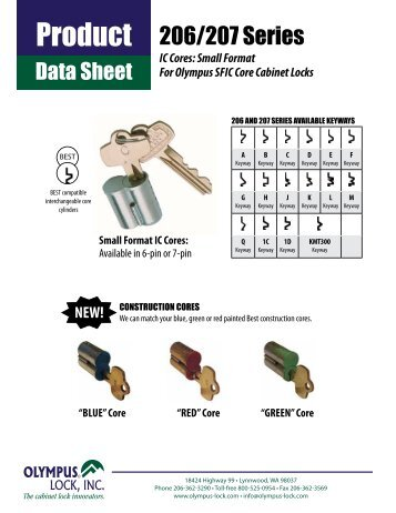 IC Cores - Olympus Lock