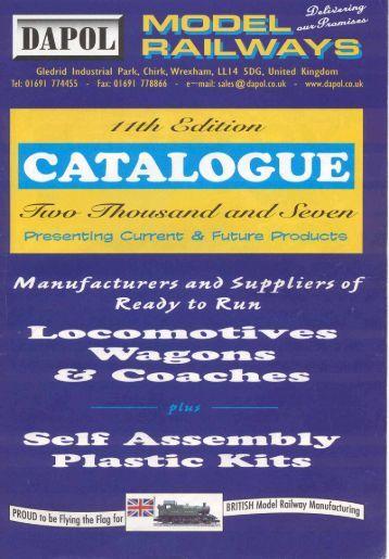 Dapol 11th Edition Catalogue (copyright 2006 Dapol Ltd)
