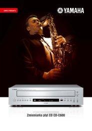 Zmieniarka płyt CD CD-C600 - Top Hi-Fi & Video Design