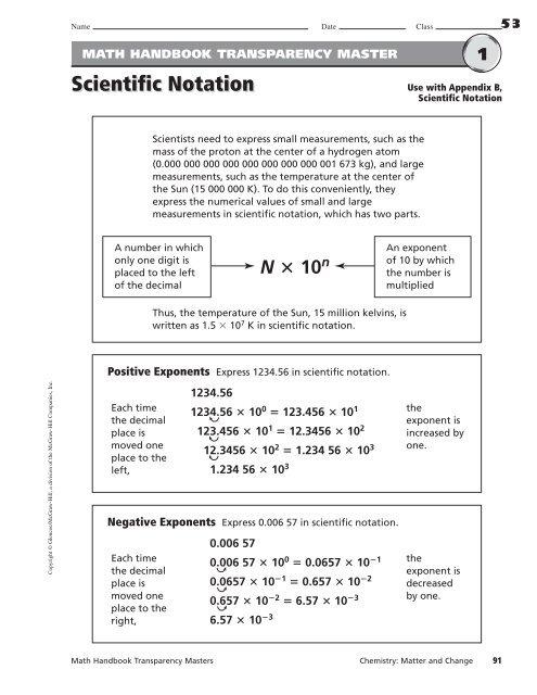 Scientific Notation Worksheets.pdf