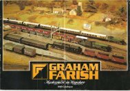 Graham Farish 1980 Catalogue