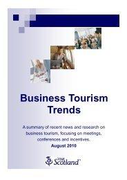 Business Tourism Trends - Scottish Convention Bureau