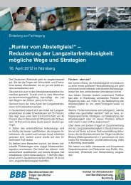 """""""Runter vom Abstellgleis!"""" – Reduzierung der ... - Bildungsverband.info"""